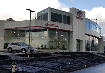 Burnaby Automall Toyota Dealership